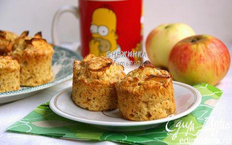 Рецепт Английские яблочные мини-пироги с корицей («Школьная ссобойка»)