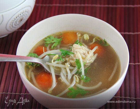 Ароматный куриный суп по-камбоджийски