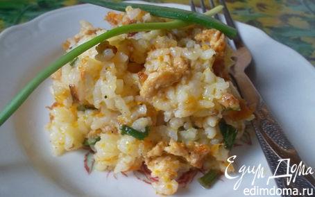 Рецепт Острый рис к ужину