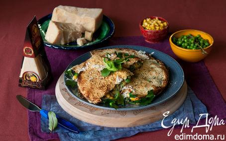 Рецепт Кесадилья с курицей, горошком и сыром