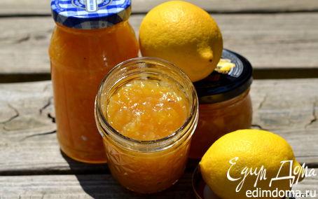 Рецепт Джем из лимонов Мейера с шампанским
