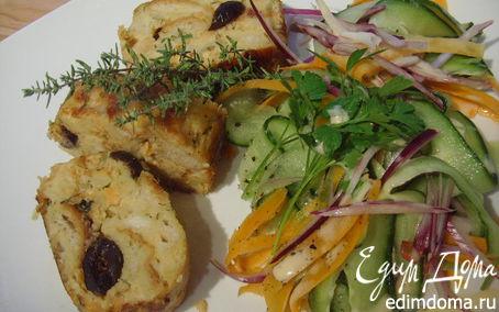 Рецепт Кнедлик с лососем