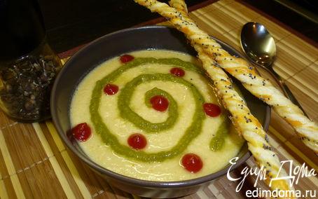 Рецепт Суп-пюре из чечевицы с курицей