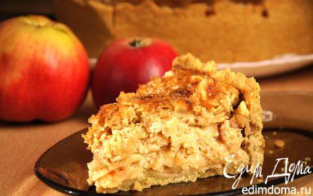 Рецепт Медовый яблочный пирог