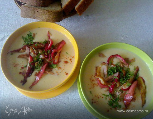 Картофельный суп-пюре