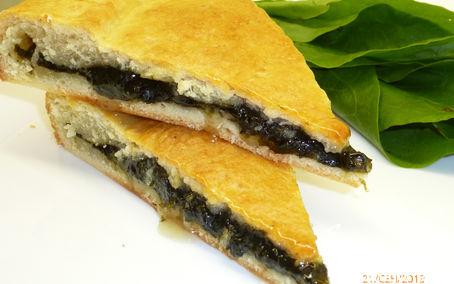 Рецепт Сладкий пирог со щавелем