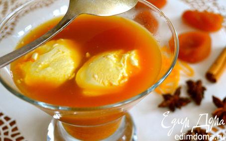 Рецепт Густой компот из сухофруктов со специями