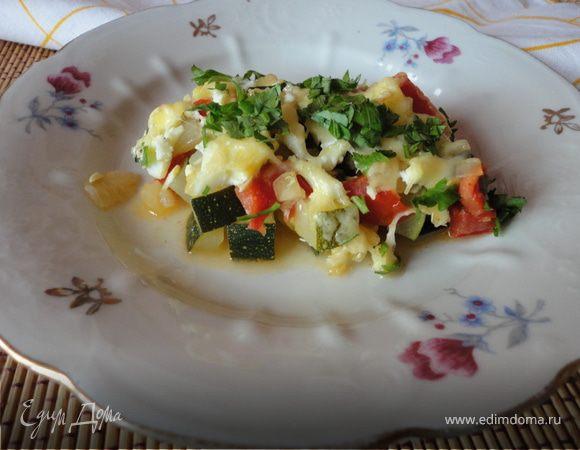 Овощная закуска с сыром