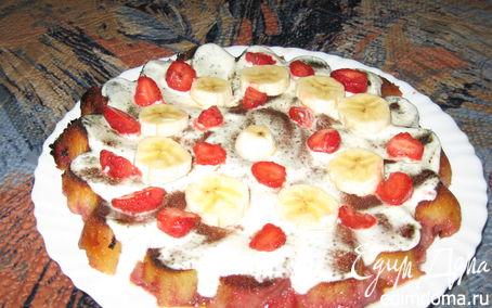 """Рецепт Вкусный пирог """"Летний вечерок"""""""
