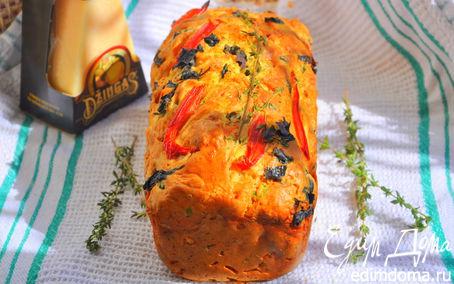 Рецепт Хлеб с маслинами и сыром Джюгас