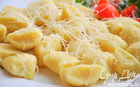 Рецепт Картофельные ньокки с сыром Джюгас