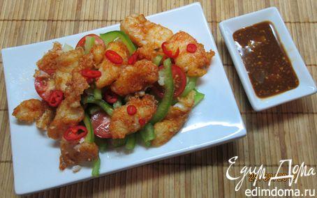 Рецепт Треска в китайском стиле