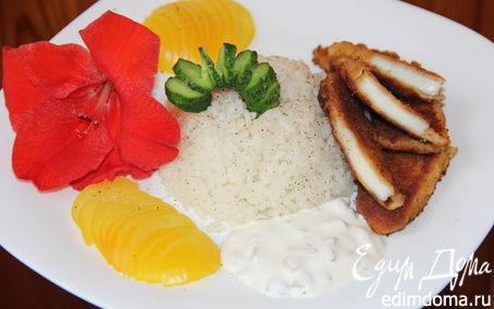 Рецепт Филе гигантского кальмара в панировке