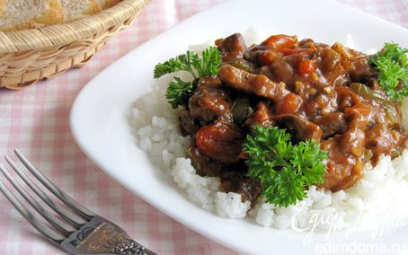 Рецепт Мясо в овощном соусе