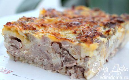 Рецепт Закусочный кекс с мясом индейки и сыром Джюгас