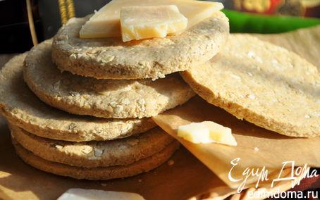 Рецепт Шотландское овсяное печенье с сыром Джюгас