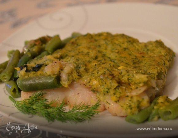 Рыба, запеченная в кукурузном соусе