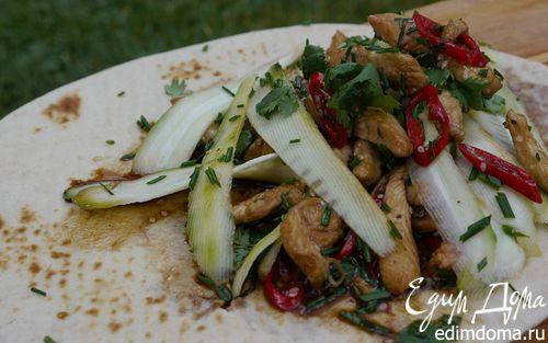 Рецепт Китайский бутерброд