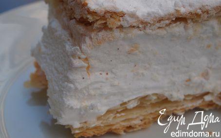"""Рецепт Десерт """"Тайны Аликанте"""", или Milhojas de merengue"""