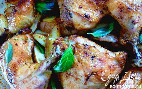 Рецепт Курица c паприкой и чесноком
