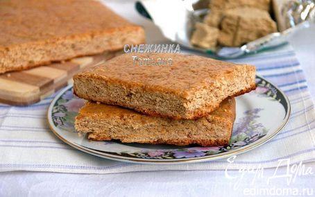 Рецепт Белорусская коврижка на халве с арахисом