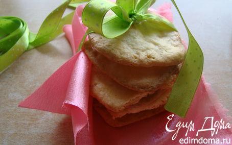 Рецепт Сахарное печенье с миндалем