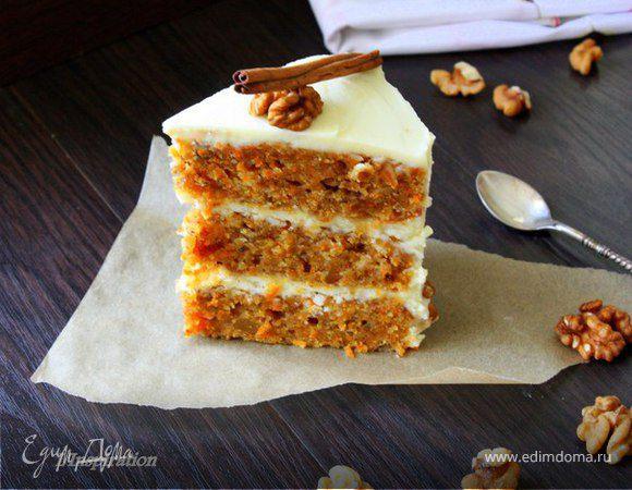 Новый морковный торт