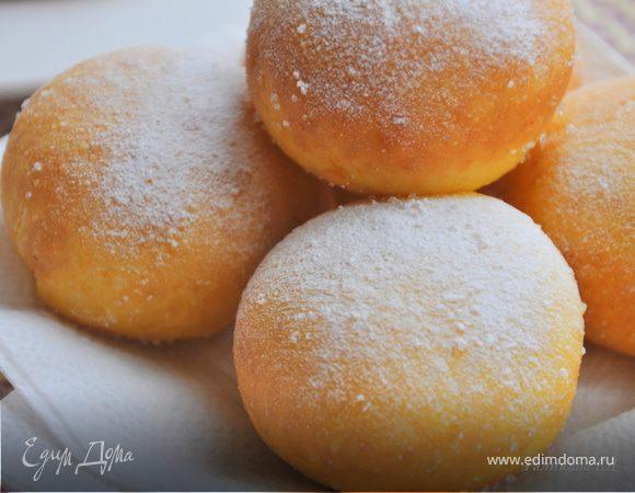 Тыквенные пончики