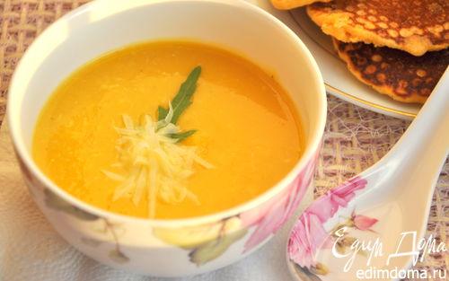 Рецепт Тыквенно-кабачковый крем-суп