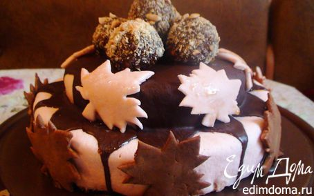 Рецепт Тыквенно-ореховый торт