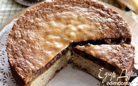 Рецепт Банановый пирог в пряной заливке