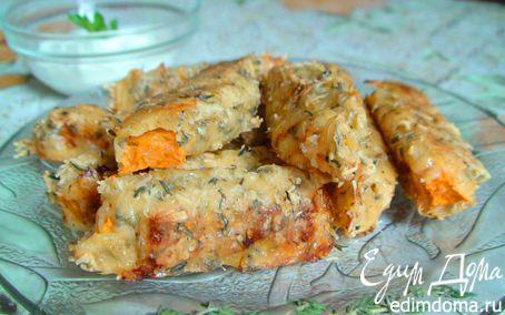 Рецепт Тыквенные палочки в сырной панировке