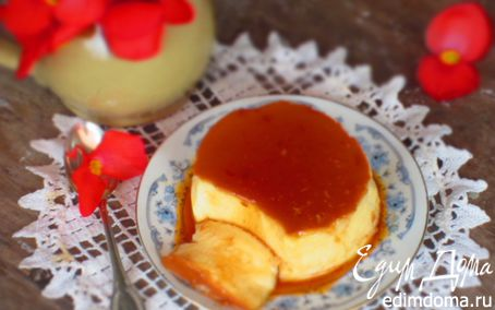 Рецепт – Крем-карамель