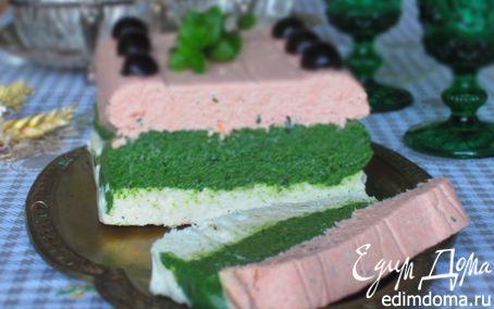 Рецепт Рыбный террин со шпинатом