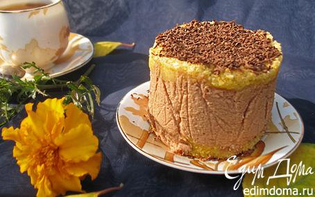Рецепт Тыквенно-шоколадные пирожные