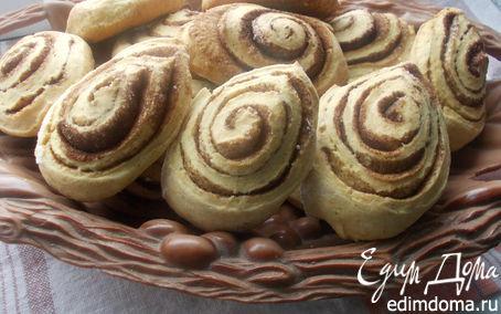 Рецепт Имбирное печенье с корицей