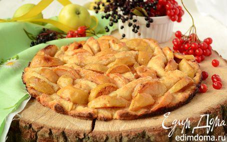 Рецепт Мятый яблочный пирог