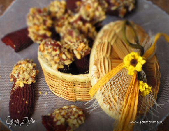 Венское шоколадное печенье с фундуком