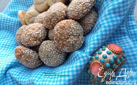Рецепт Марокканское печенье (Ghoriba)