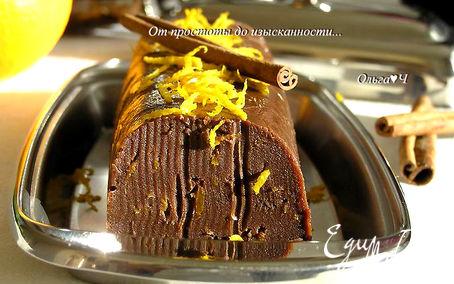 Рецепт Шоколадное масло с корицей и апельсиновой цедрой