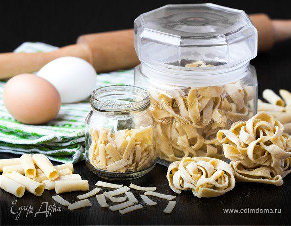 Приготовление и хранение домашней пасты