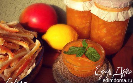 """Рецепт Варенье """"Экзотика"""" из манго с цитрусовой ноткой"""