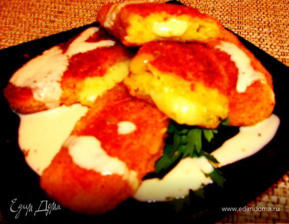 Картофельные биточки с начинкой из сыра (полуфабрикат)