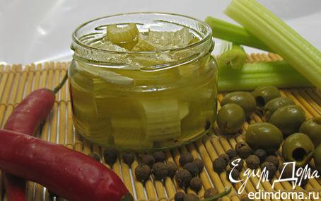Рецепт В масле маринованный сельдерей
