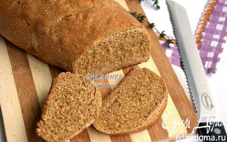Рецепт Ржаной хлеб на квасе с розмарином