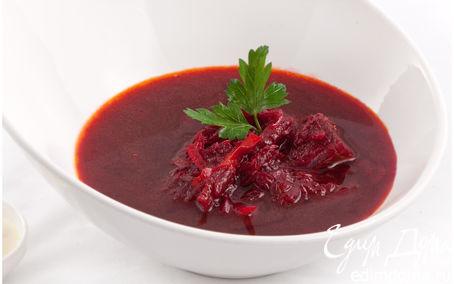 Рецепт Борщ (суп) свекольный