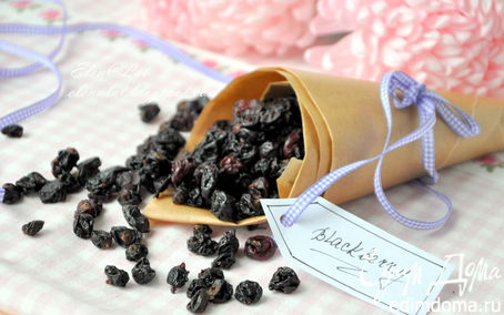 Рецепт «Изюм» из черной смородины