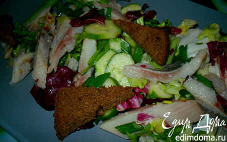 Рецепт Cалат из селедочки и овощей
