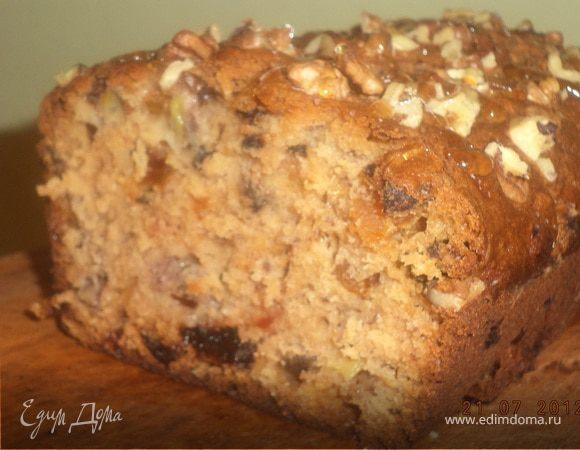 Ореховый хлебец с сухофруктами