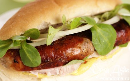 Рецепт Хот-дог (Le Hot Dog)